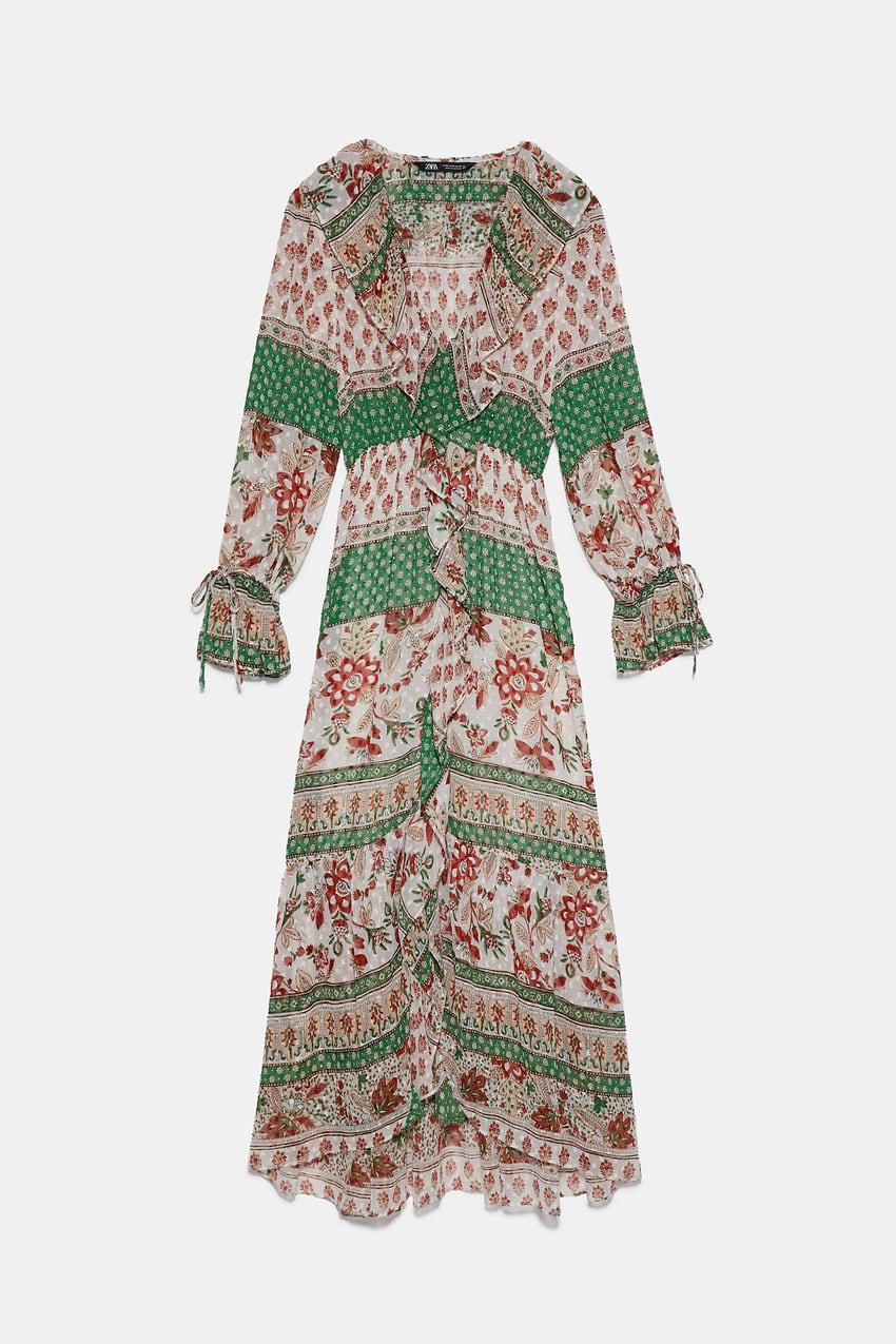 שמלה של זארה | צילום מסך מהאתר