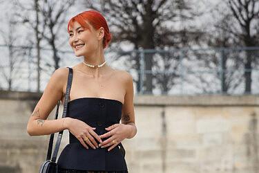 אופנת רחוב בשבוע האופנה בפריז 2020 | צילום: Hanna Lassen/Getty Images
