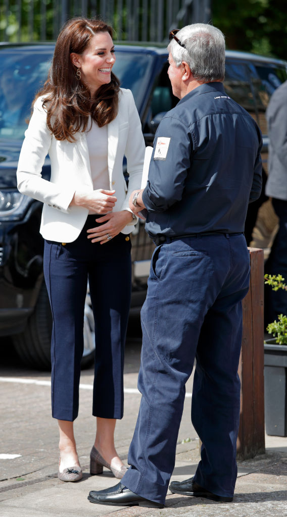 קייט מידלטון לובשת ג'יי קרו   צילום: Max Mumby/Indigo/Getty Images