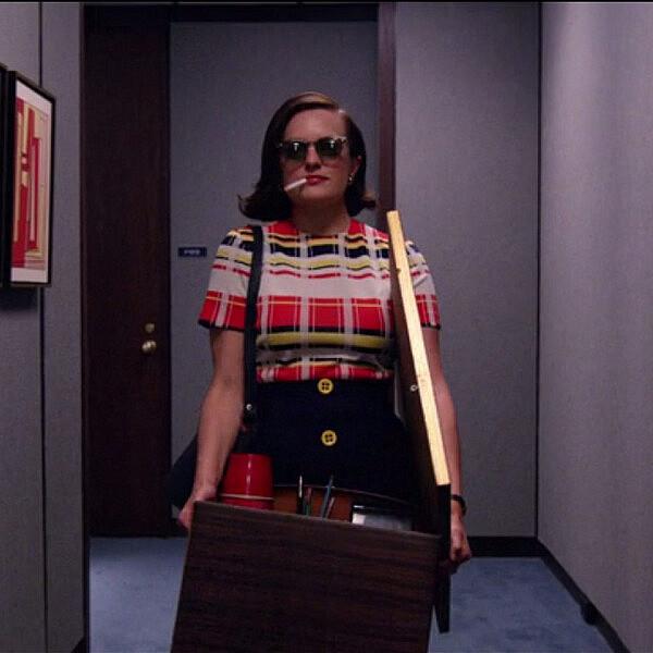 פגי אולסון הולכת הביתה | צילום מסך מתוך