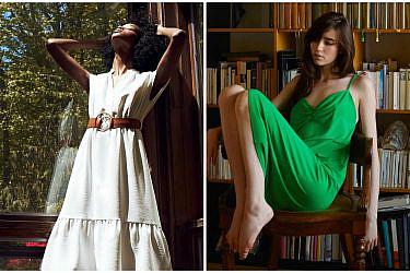 שמלות מידי של זארה | צילום מסך מהאתר