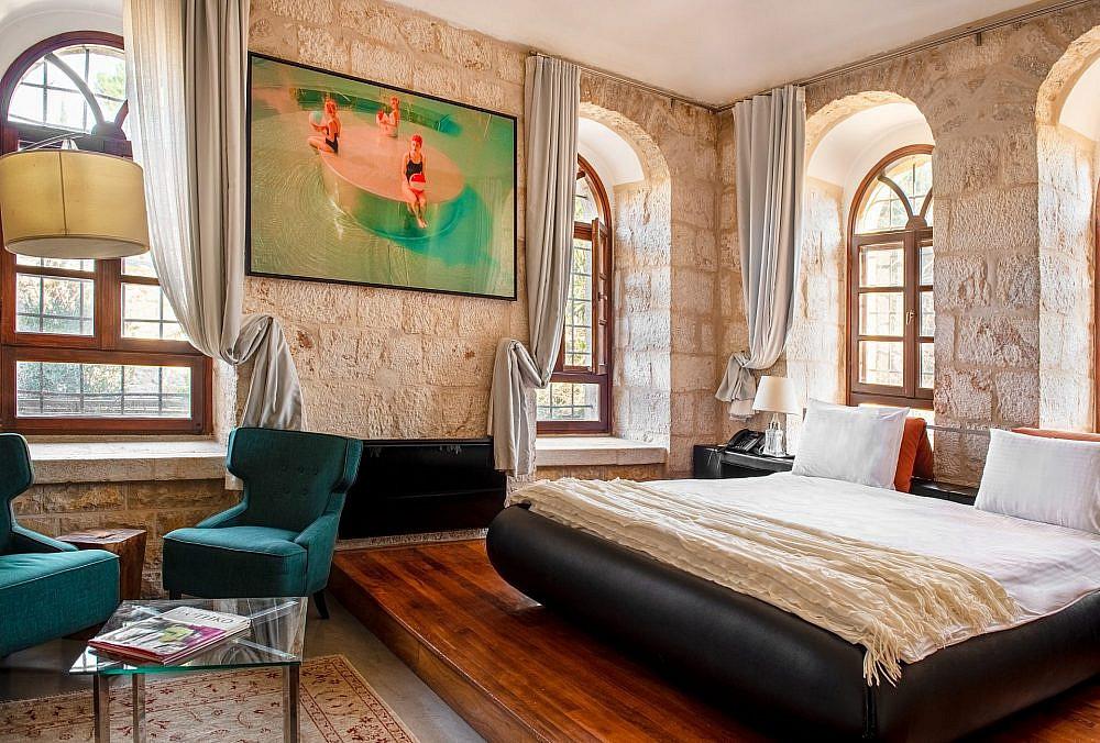 מלון אלגרה, ירושלים | צילום: אלונה קלוגמן