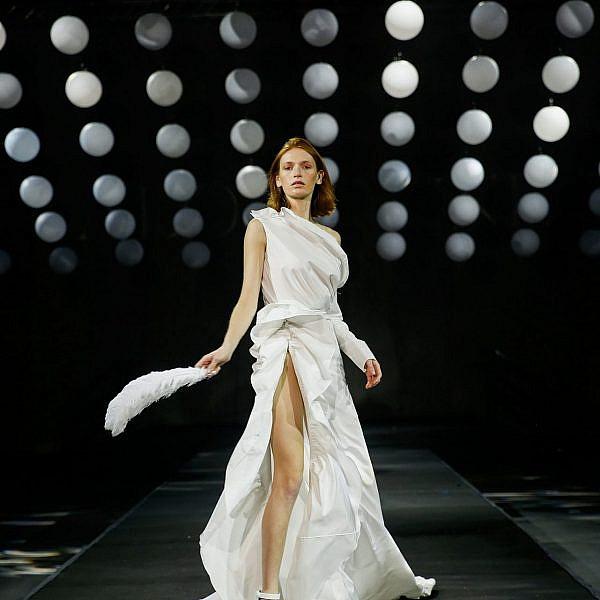התצוגה של אלון ליבנה, שבוע אופנה תל אביב 2020 | צילום: גיל חיון