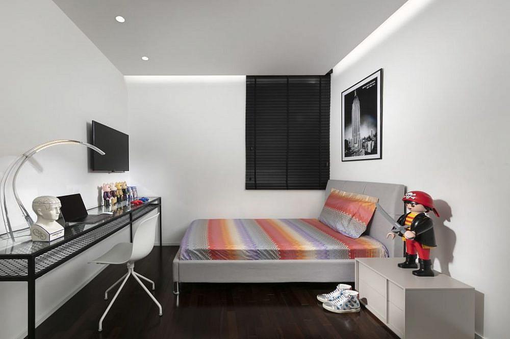 בית בהוד השרון. חדרו של הבן | עיצוב: אורון מילשטיין, צילום: אלעד גונן