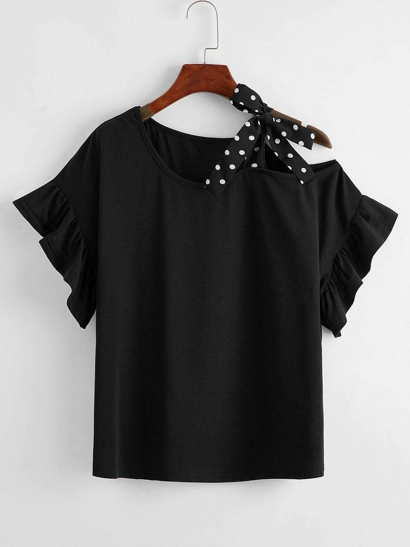 חולצה מעוצבת | צילום מסך מאתר SHEIN