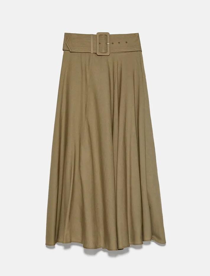 חצאית ספארי של זארה | צילום מסך מהאתר