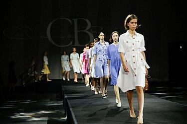 התצוגה של סי בי פאשן, שבוע אופנה תל אביב 2020 | צילום: גיל חיון