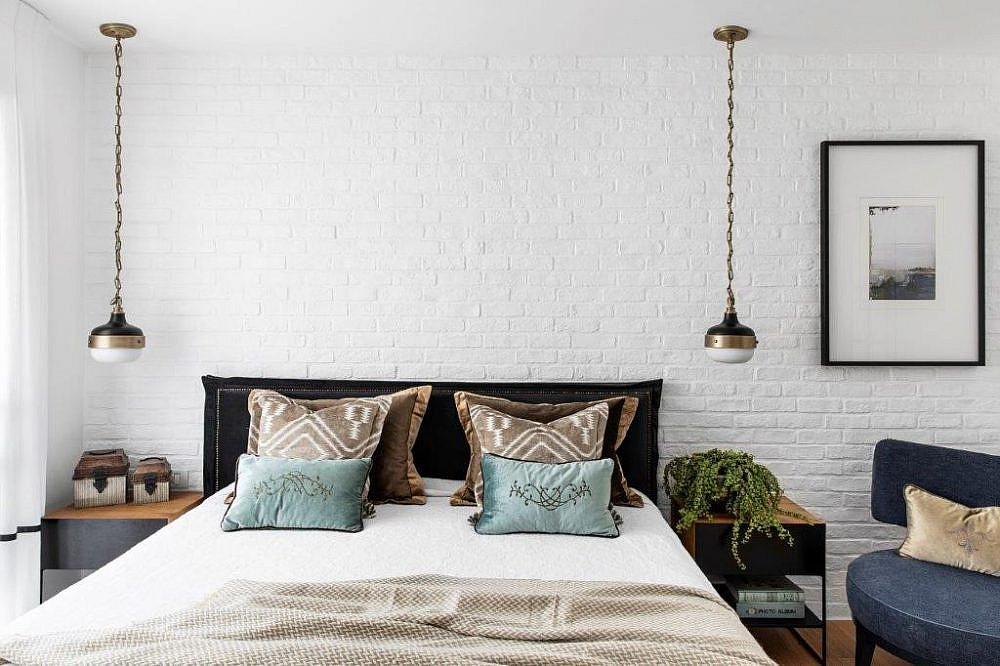 בית שחור לבן – חדר השינה | עיצוב פנים: קרן ניב טולדנו, צילום: איתי בנית