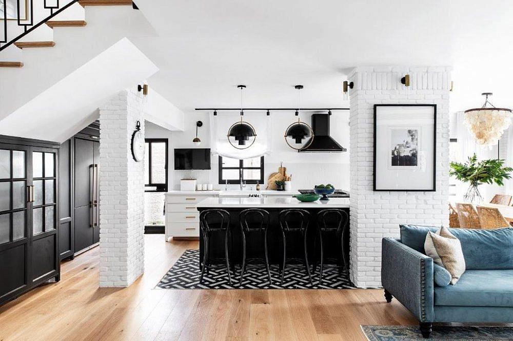 בית שחור לבן | עיצוב פנים: קרן ניב טולדנו, צילום: איתי בנית