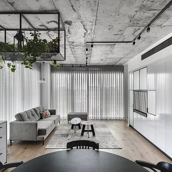 דירה בפלורנטין | תכנון ועיצוב: ניצן הורוביץ, צילום: עודד סמדר