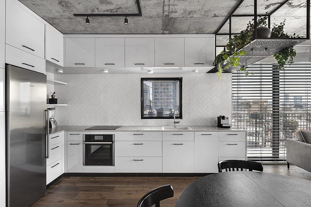 דירה בפלורנטין. המטבח | תכנון ועיצוב: ניצן הורוביץ, צילום: עודד סמדר