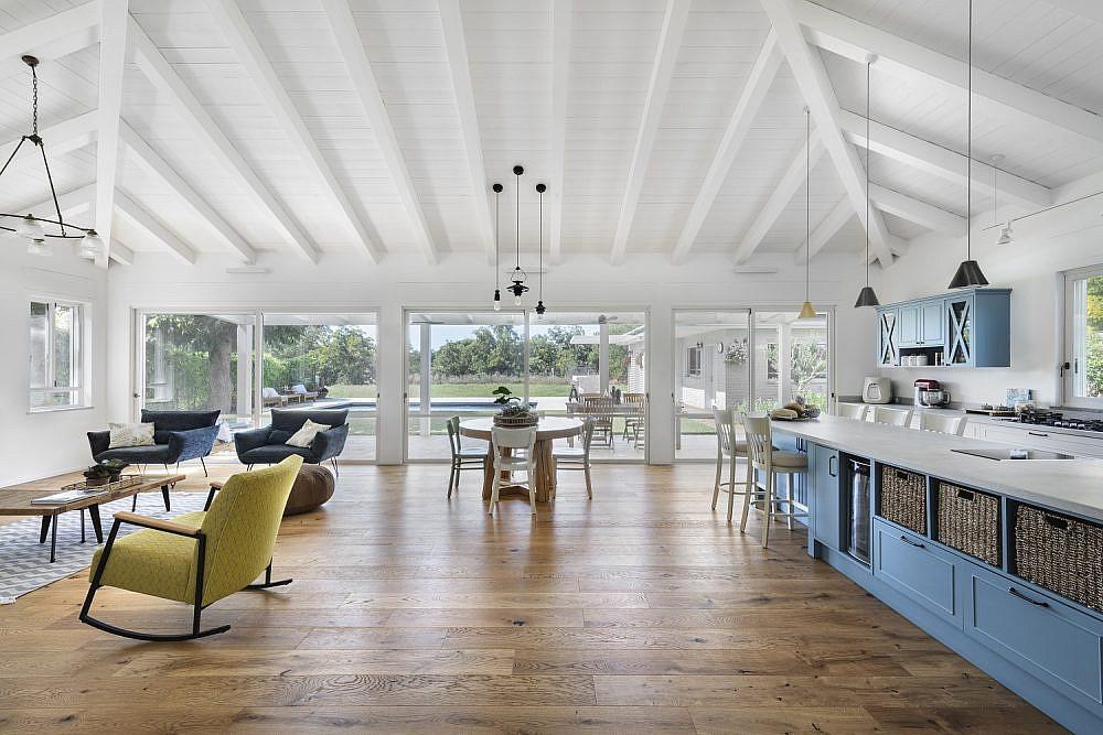 בית במושב בורגתא | עיצוב ותכנון: הלל אדריכלות ועיצוב פנים, צילום: עודד סמדר