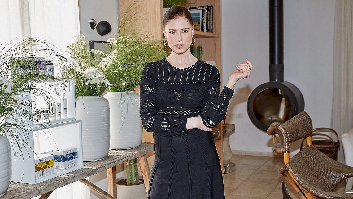 רונית יודקביץ' בהשקת מוצרי קולגן פלוס | צילום: שוקה כהן