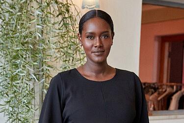 טהוניה רובל בצילומי הקמפיין לחוה זינגבוים | צילום: שוקה כהן