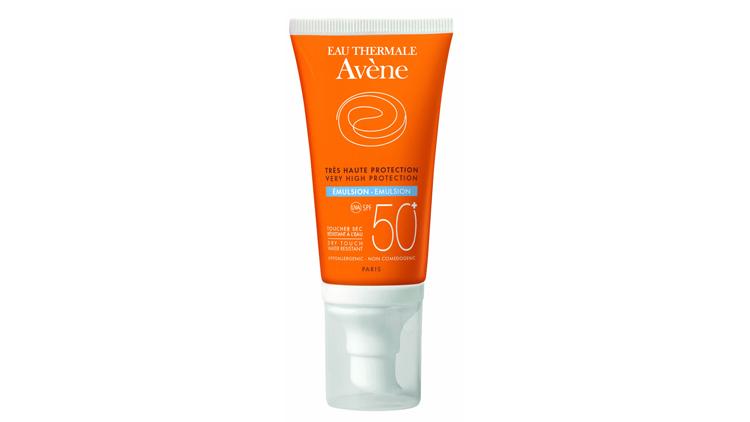 קרם הגנה 50 SPFשלAVENEלעור רגיש