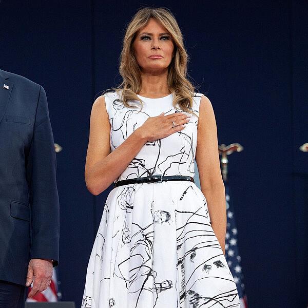 מלאניה ודונאלד טראמפ | צילום: SAUL LOEB/AFP via Getty Images