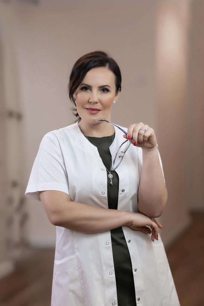 """ד""""ר אירינה אפריימוביץ. צילום: סלע מדיקל"""