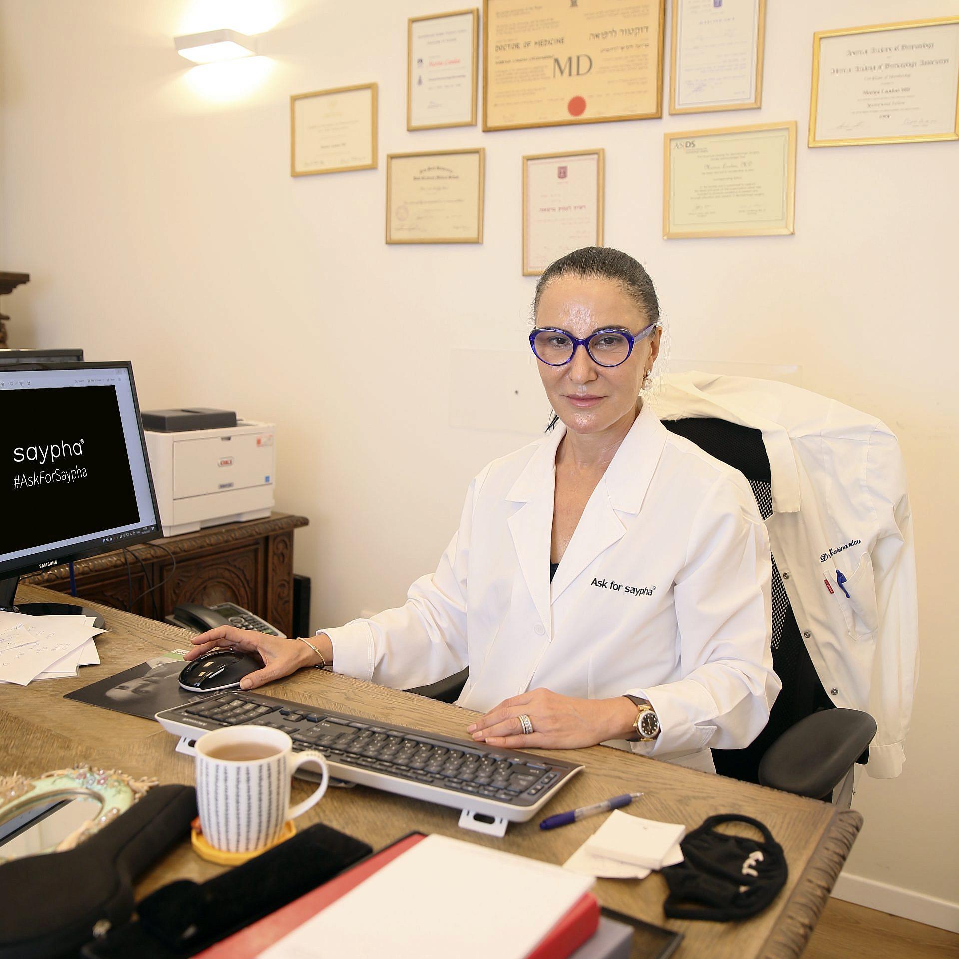 """ד""""ר מרינה לנדאו. צילום: ליאור סויסה"""