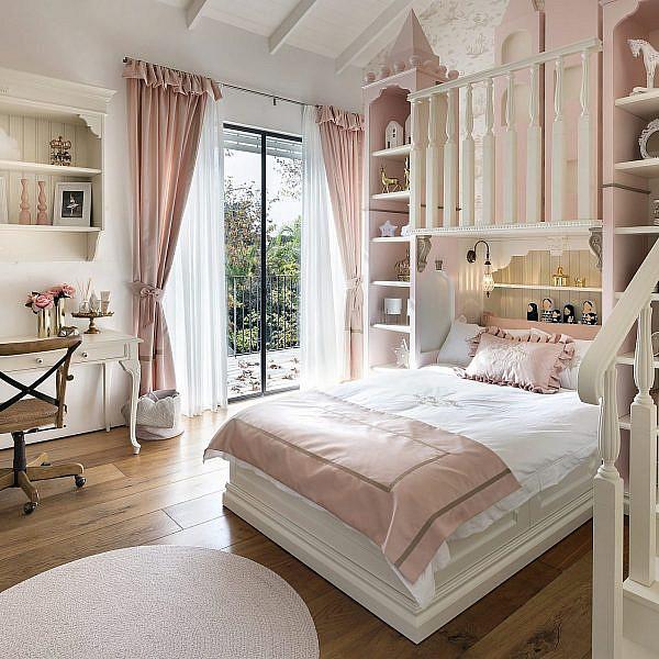 חדר נסיכות   עיצוב פנים קרן ניב טולדנו, צילום עמית גושר