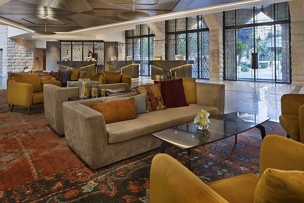 מלון ענבל בירושלים   צילום: אסף פינצ'וק
