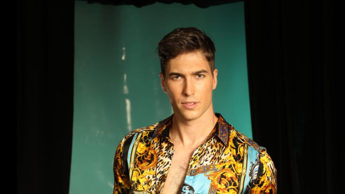 עומר דרור ביום האופנה הישראלי   צילום: מור צידון