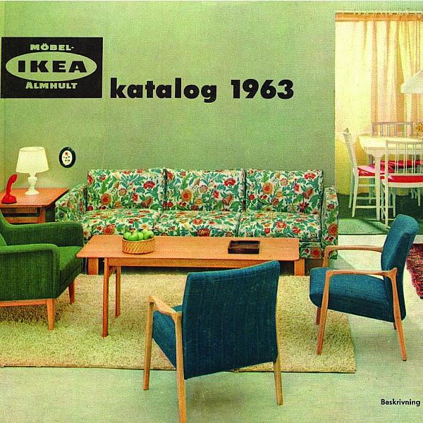 קטלוג איקאה 1963 | צילום מתוך