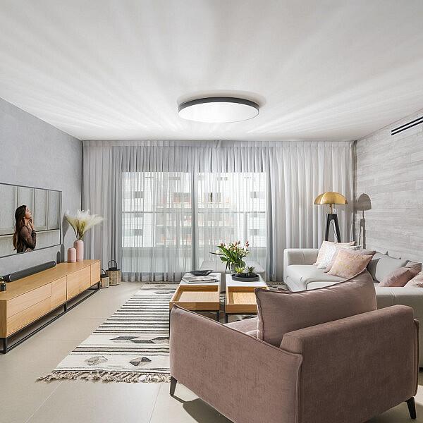 דירת מחיר למשתכן ביבנה | עיצוב: הילה אלטר, צילום: מאור מויאל