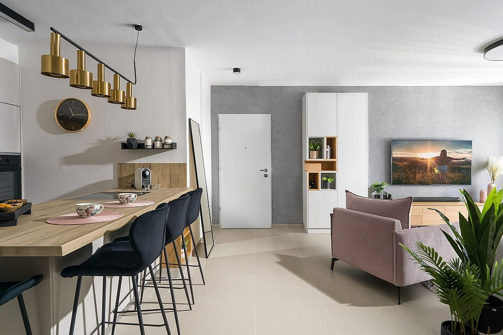 דירת מחיר למשתכן ביבנה   עיצוב: הילה אלטר, צילום: מאור מויאל