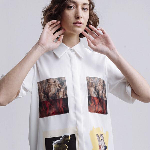 חולצה מכופתרת של קום איל פו, מחיר 199 ש