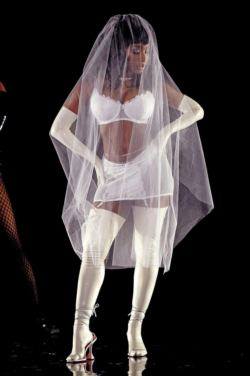 נורמני קורדיי בתצוגה של ריהאנה   צילום: Kevin Mazur/Getty Images