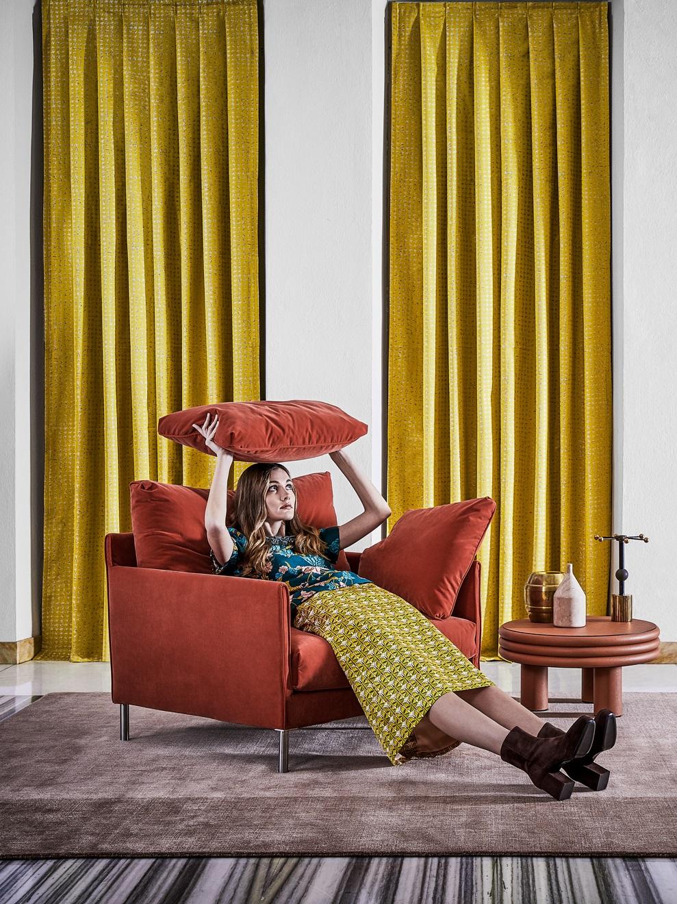 """עיצוב בבדי טקסטיל עשירים מבית רובלי. להשיג ב-RENBY   צילום: יח""""צ"""
