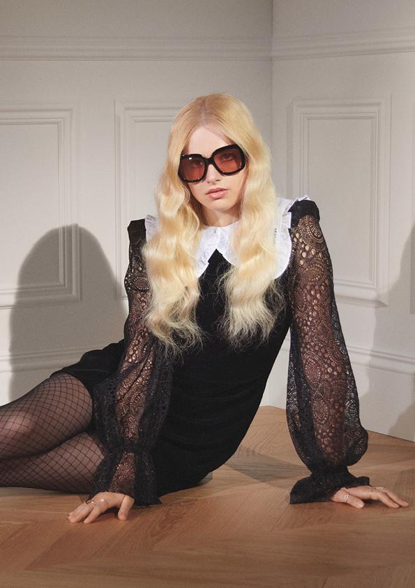 שמלה של אשת הערפד ל-H&M | צילום: הנס ומאוריץ
