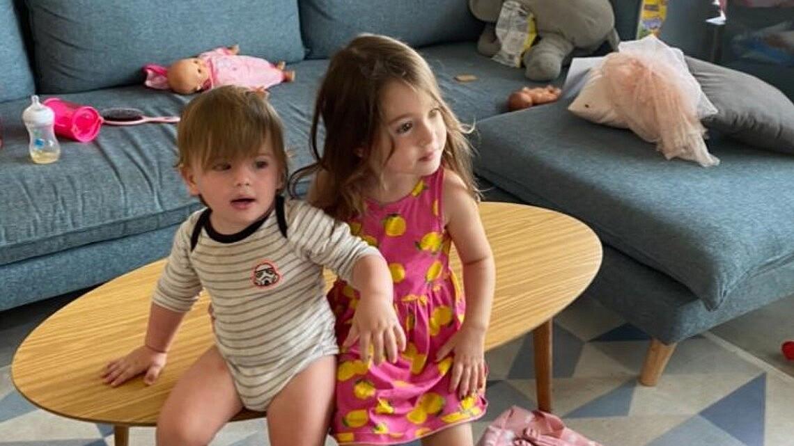 ילדי הקורונה של לירון שמם | צילום מהאלבום המשפחתי