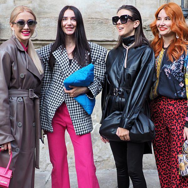 פאשניסטות בשבוע האופנה במילאנו | צילום: shutterstock
