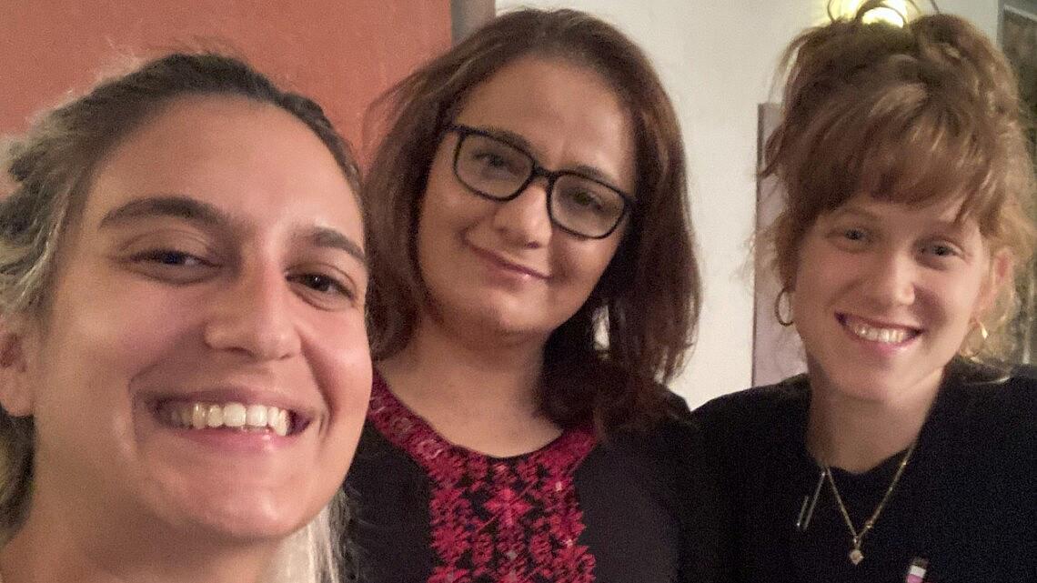 אביגיל קובארי, סמאח סלאימה ותמר גורן | צילום תמר גורן