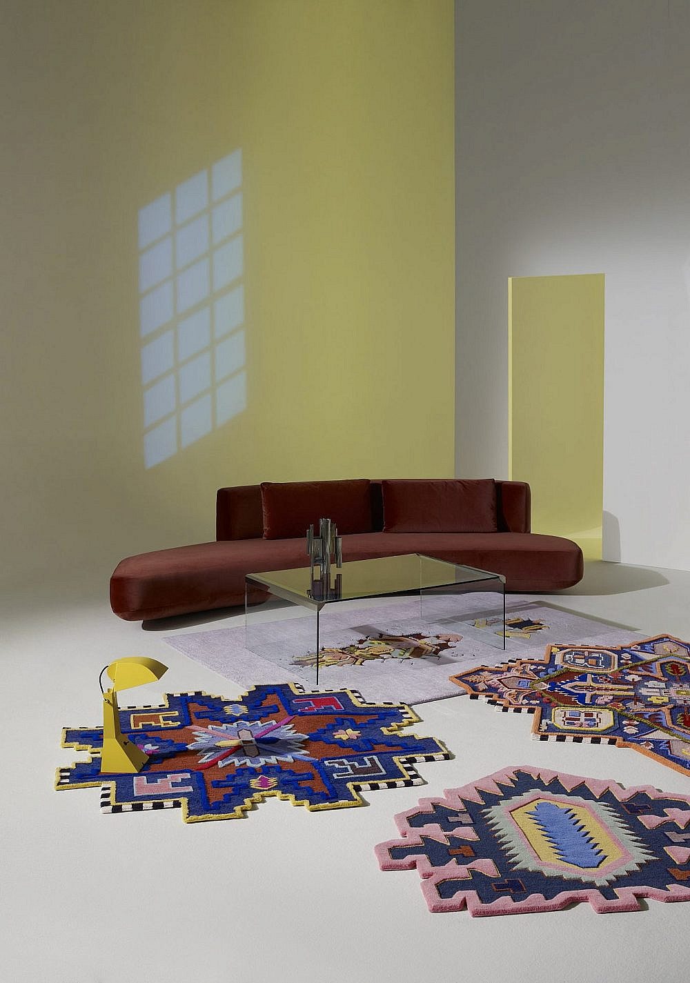 """שטיחים לא מרובעים של טולמנ'ס   צילום: יח""""צ"""