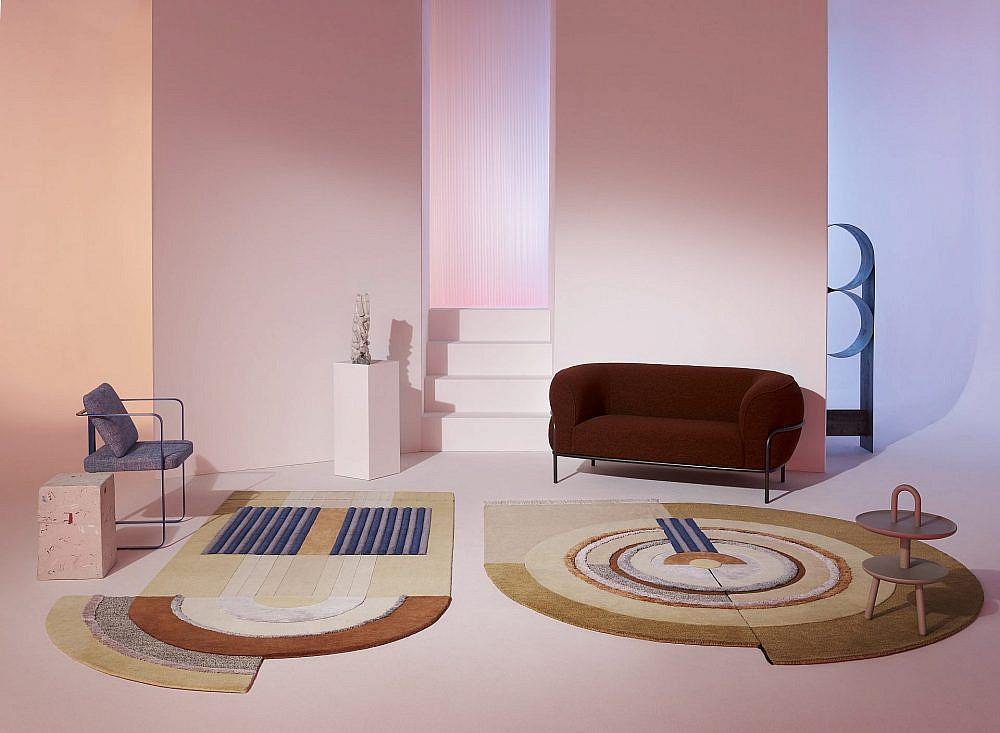 """שטיחים מעוגלים של טולמנ'ס   צילום: יח""""צ"""