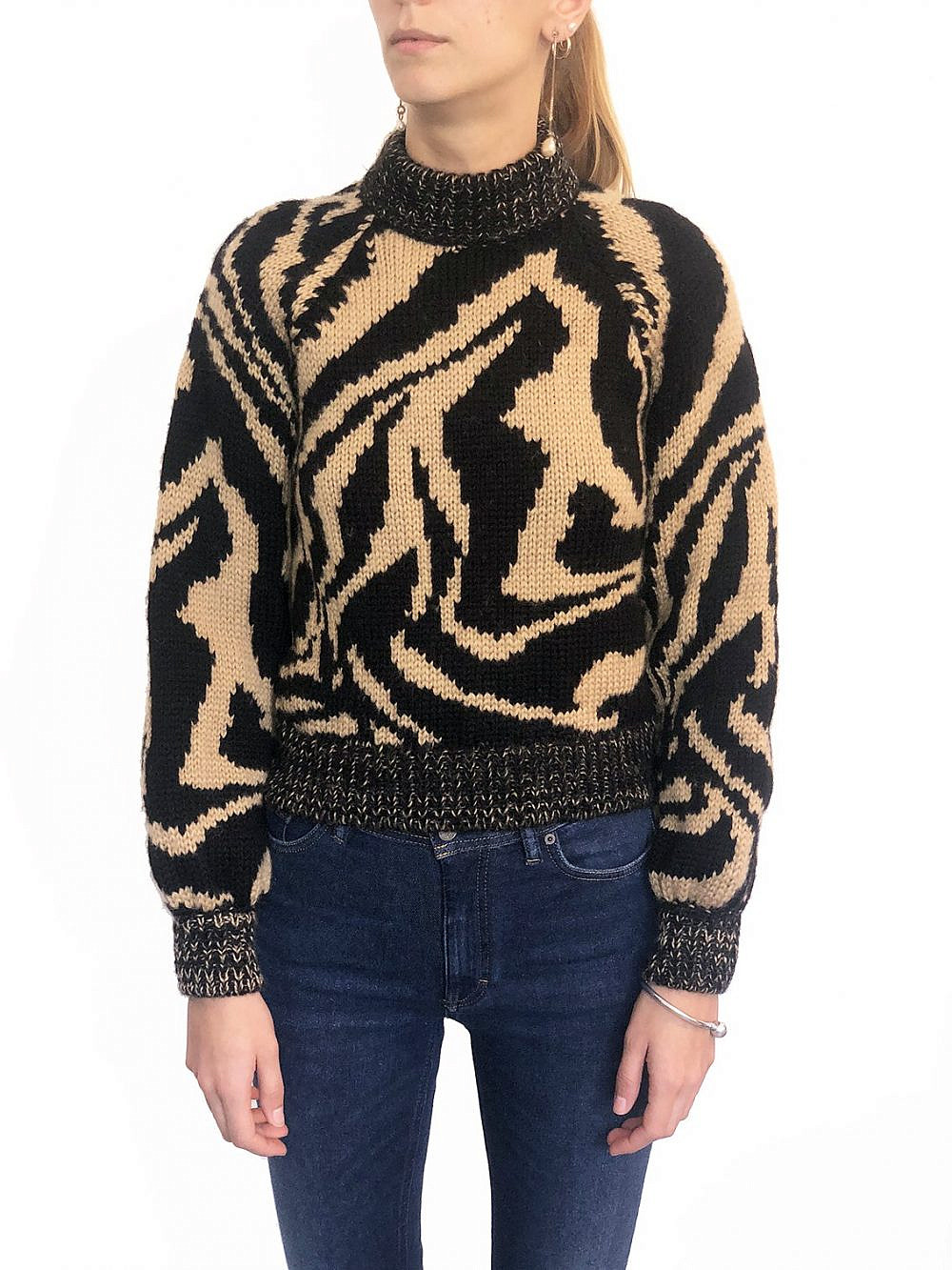 """סוודר של גאני מבוטיק ורנר, מחיר 990 ש""""ח   צילום מסך"""
