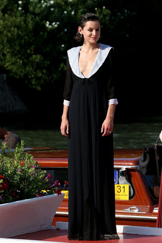 אמה קורין בפסטיבל ונציה   צילום: Franco Origlia/Getty Images