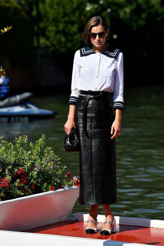 אמה קורין בפסטיבל ונציה   צילום: Jacopo Raule/Getty Images