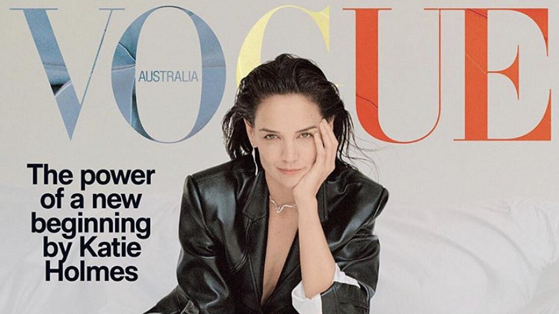 קייטי הולמס על שער נובמבר 2020 של ווג אוסטרליה