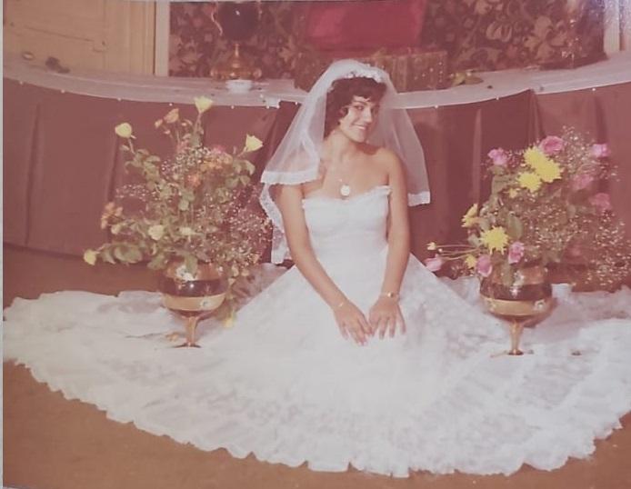 נינה בחתונתה   צילום באדיבות נינה