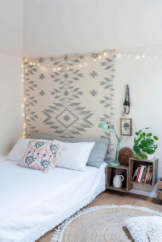 חדר השינה של אחת הילדות. עיצוב פנים: אורית דרום   צילום: גלית דויטש