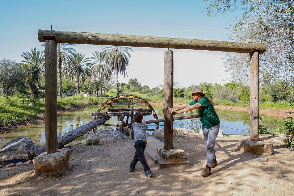 פסח בפארק נאות קדומים | צילום: אלדד מאסטרו