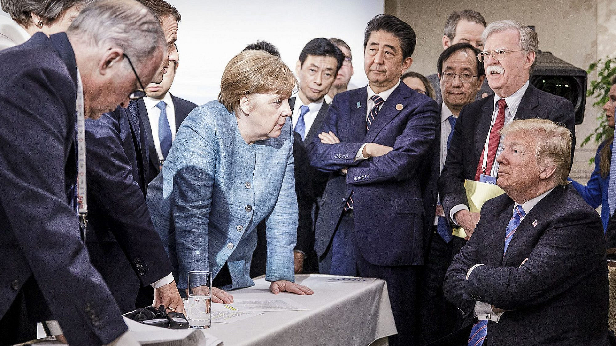 אנגלה מרקל בכנס G7 | צילום: Jesco Denzel /Bundesregierung via Getty Images
