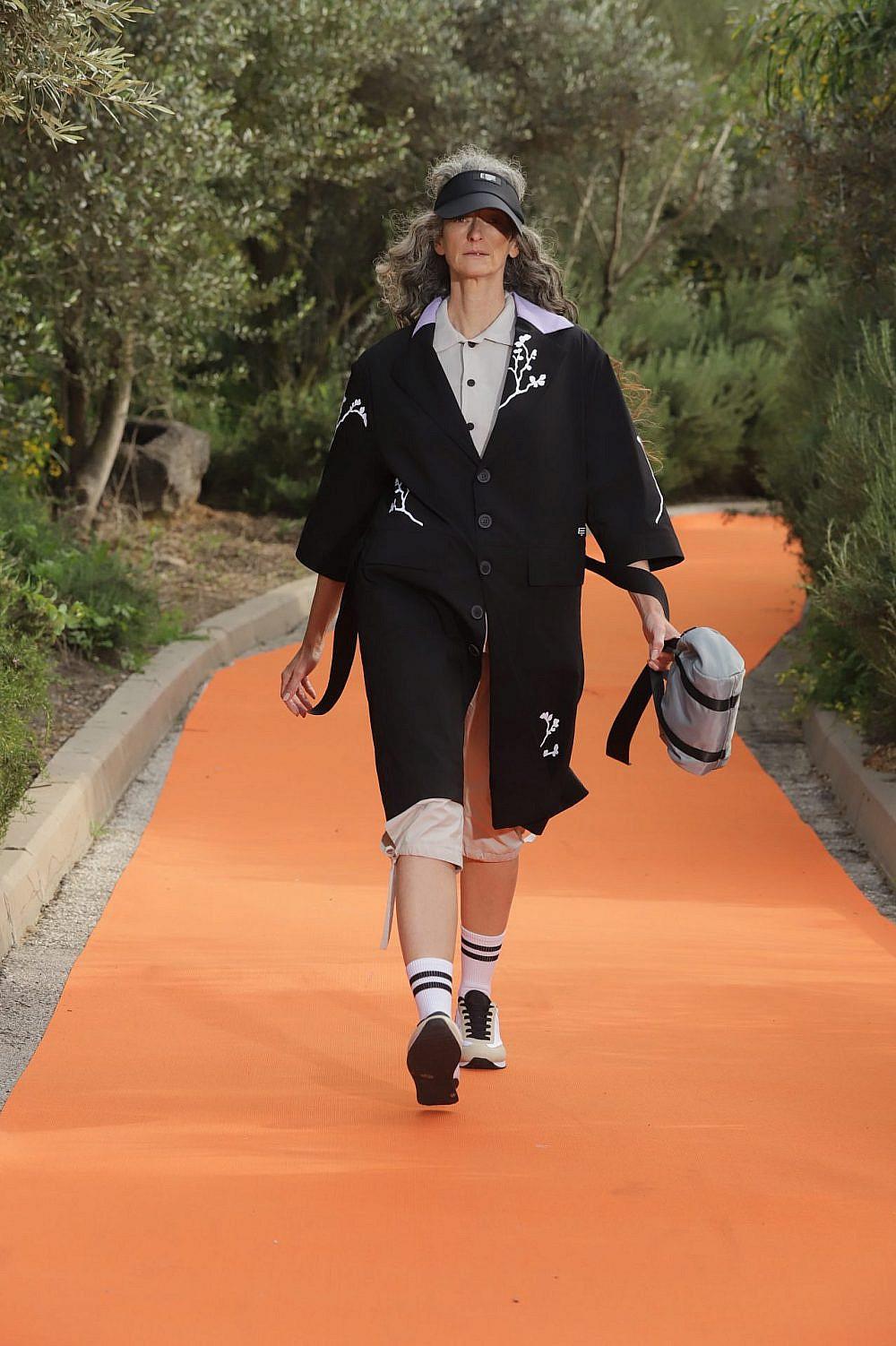 התצוגה של אור אידלמן בשבוע האופנה תל אביב קורנית 2021 | צילום: אבי ולדמן