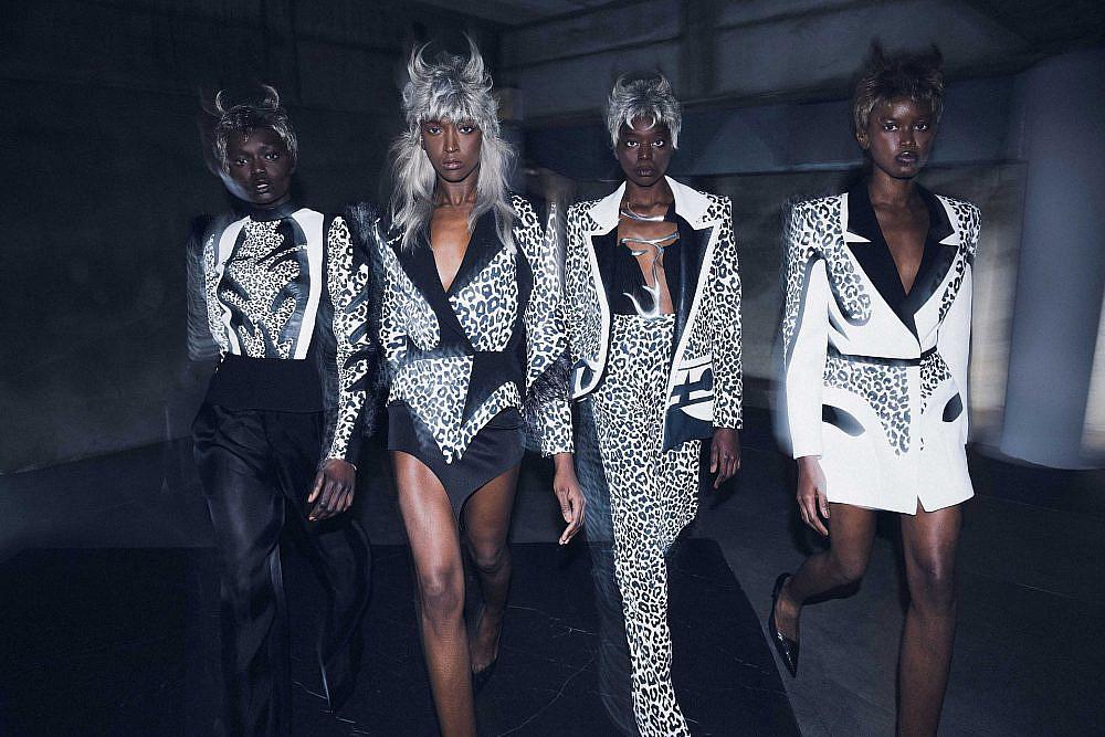 התצוגה של אלין ליבנה בשבוע האופנה תל אביב קורנית 2021 | צילום: ערן לוי