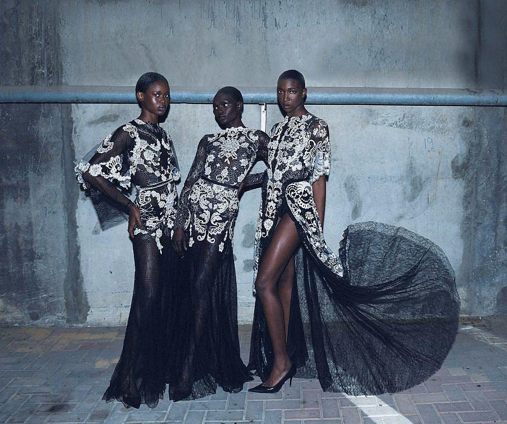 התצוגה של אלון ליבנה בשבוע האופנה תל אביב קורנית 2021 | צילום: ערן לוי