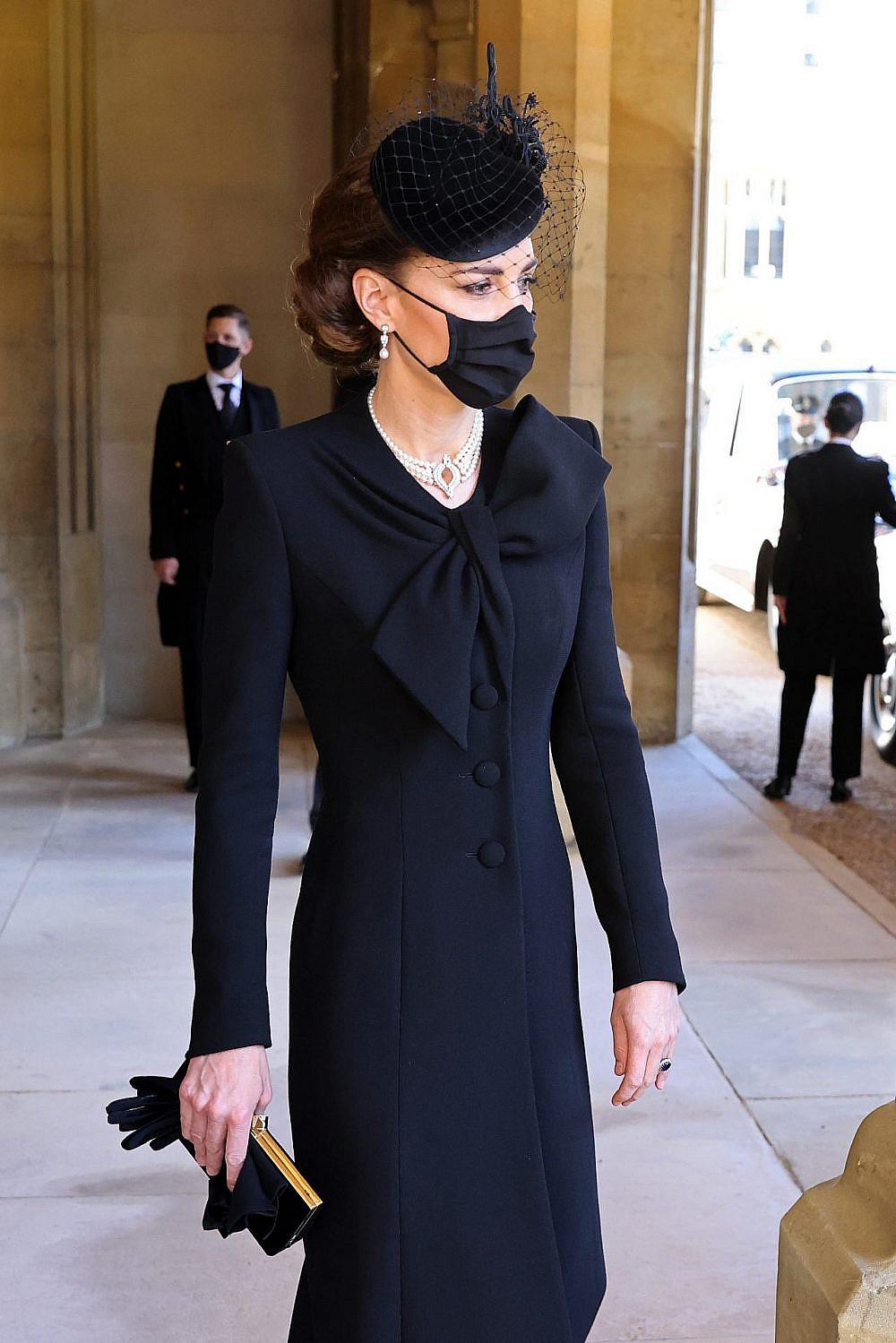 קייט מידלטון בלווית הנסיך פיליפ   צילום: Chris Jackson/WPA Pool/Getty Images