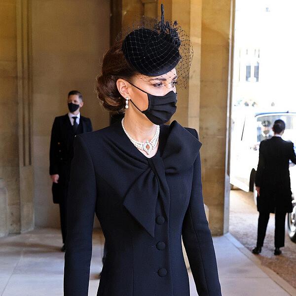 קייט מידלטון קייט מידלטון בלווית הנסיך פיליפ | צילום: Chris Jackson/WPA Pool/Getty Images